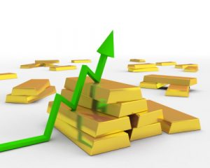 the price of gold is going up