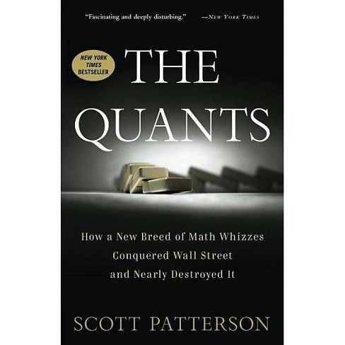 cover book for the quants by scott patterson