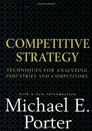 Competitive Strategy Michael Porter