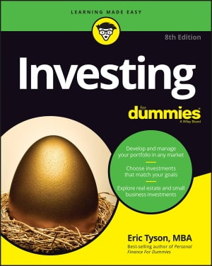 Investing For Dummies Eric Tyson book cover