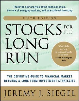 Stocks For The Long Run Jeremy Siegel book cover