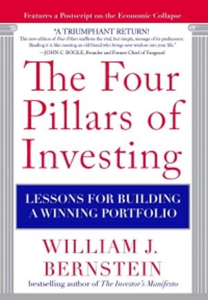 The Four Pillars Of Investing William J Bernstein book cover