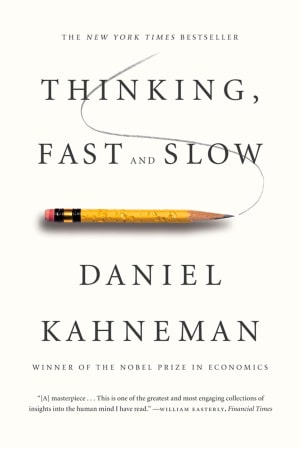 Thinking Fast And Show Daniel Kahneman book cover