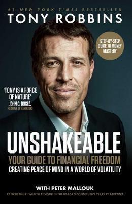 Unshakeable Tony Robbins Book cover