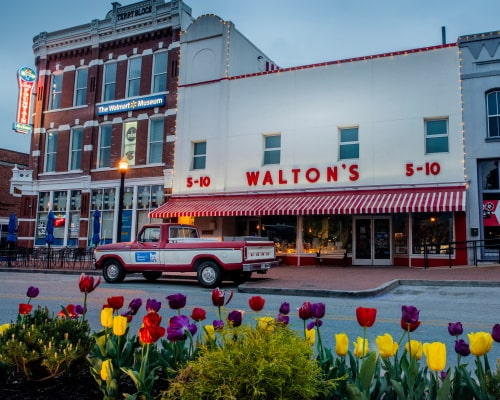 Waltons Front Store