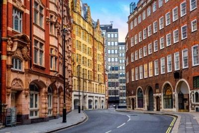 Historic London great smith street